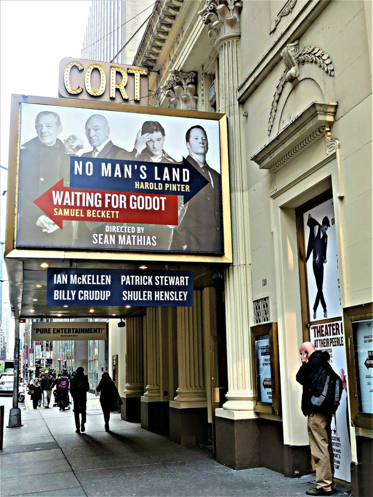 Cort Theatre, 138 West 48th Street, New York City. In 2019