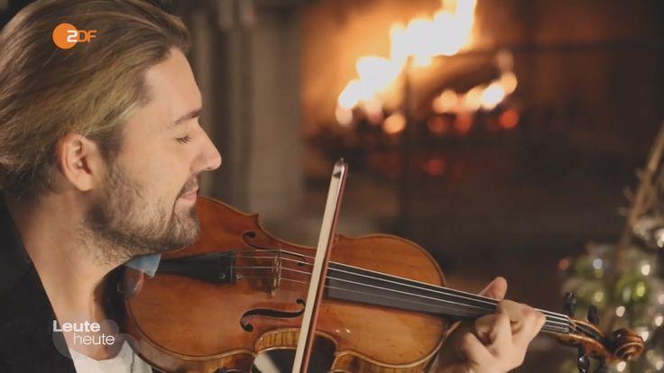 "David Garrett on German ZDF tv - Christmas special ""Leute Heute"" (23-12-..."
