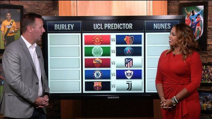 UCL Predictor: Matchday 1