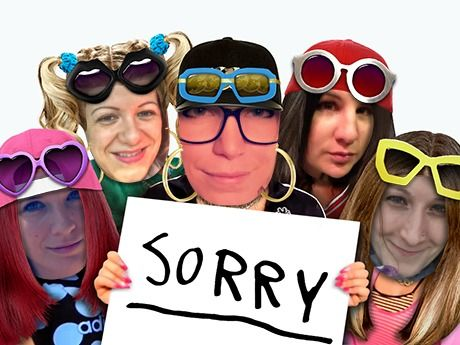 Make your own with 5 friends, too (whether or not you have something to apologize for).