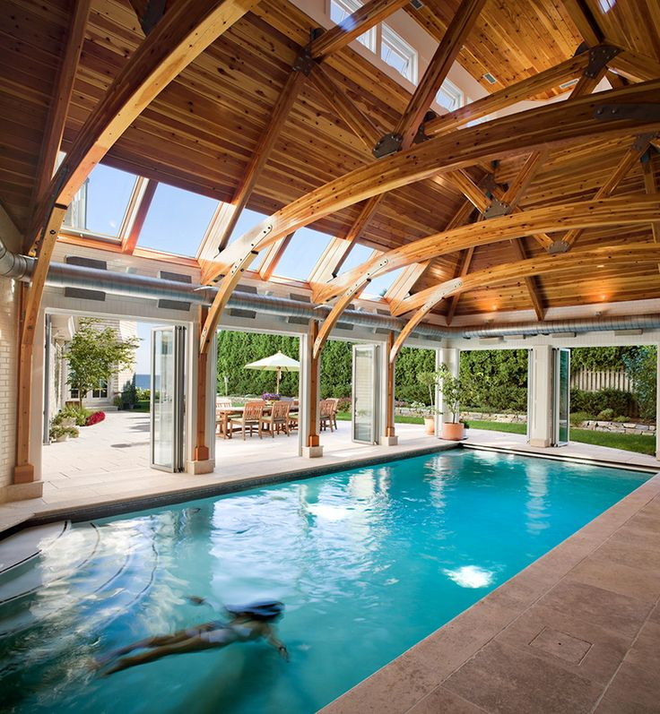 Best 25+ Indoor outdoor pools ideas on Pinterest   Houses with ...