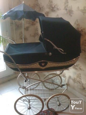 photo landau aubert image 1 5 vintage baby prams pinterest poussette poussette landau et. Black Bedroom Furniture Sets. Home Design Ideas