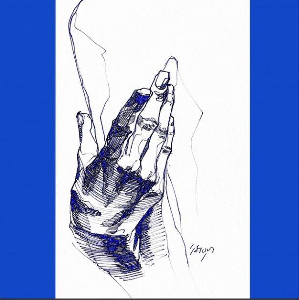 9.21 blue hand