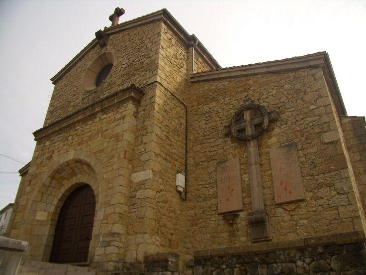 Iglesia de Nava. Ya retiradas