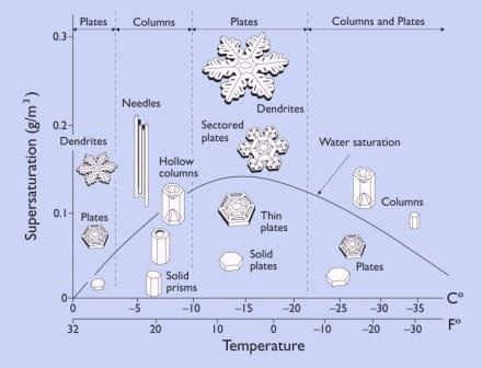 Morphology of a Snowflake by Kenneth Libbrecht via scientificamerican tinyurl.com/7j45 pinterest.com/... #Kenneth_Libbrecht