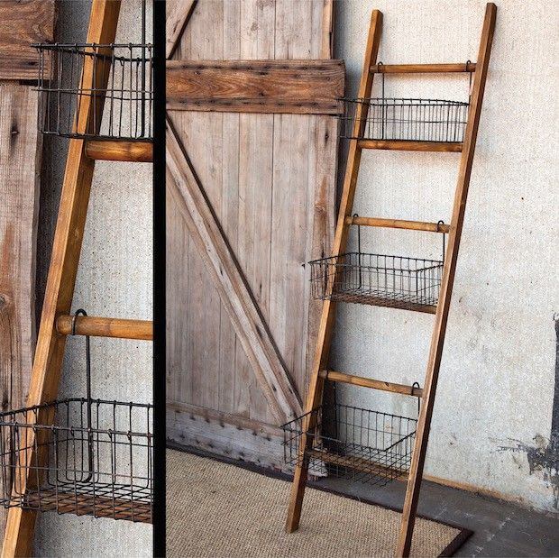 Ladder Rack | Wire Display Baskets | Ladder Display