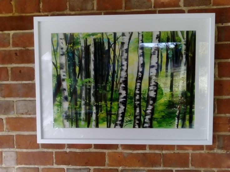 Buy Soft Silver Birch, Mixed Media painting by Sally Scott on Artfinder. Discover thousands of other original paintings, prints, sculptures and photography from independent artists.