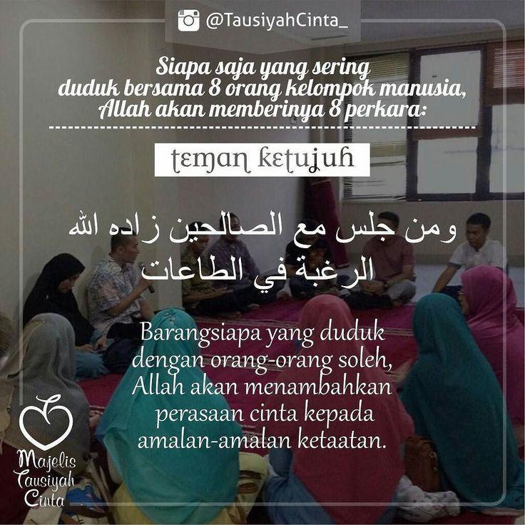 اللهم صل على سيدنا محمد و على آل سيدنا محمد .  Like dan Tag 5 Sahabatmu Sebagai Bentuk Dakwah Kita Hari Ini.. .  #Dakwah #Cinta #CintaDakwah #TausiyahCinta #Islam #Muslim #Muslimah #Tausiyah #Muhasabah #PrayForAllMuslim #Love #Indonesia #Quran #AlQuran  M A J E L I S  T A U S I Y A H  C I N T A   { Dakwah dan Inspirasi }