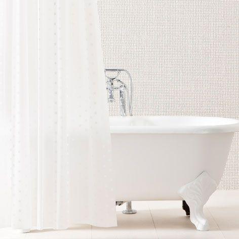STARS SHOWER CURTAIN - Shower Curtains - Bathroom   Zara Home Greece