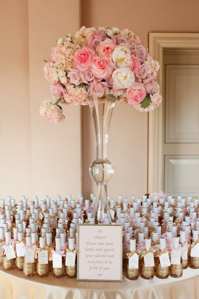 Classic ~ Escort Card Ideas for Every Type of Wedding ~Event Design: Bella Destinee | bellethemagazine.com