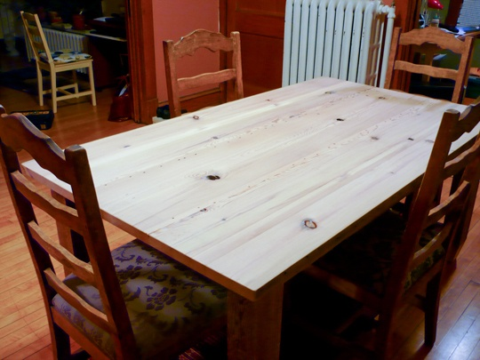 how to make your own reclaimed wood coffee table