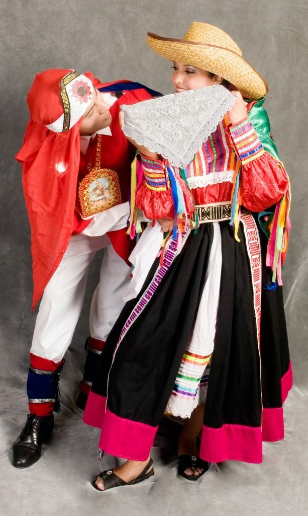 TRAJES TIPICOS DEL PERU Traditional Peruvian Dresses:pacasito