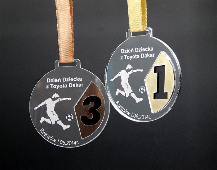 Sport medals football competition on the occasion of Children's Day with Toyota Dakar