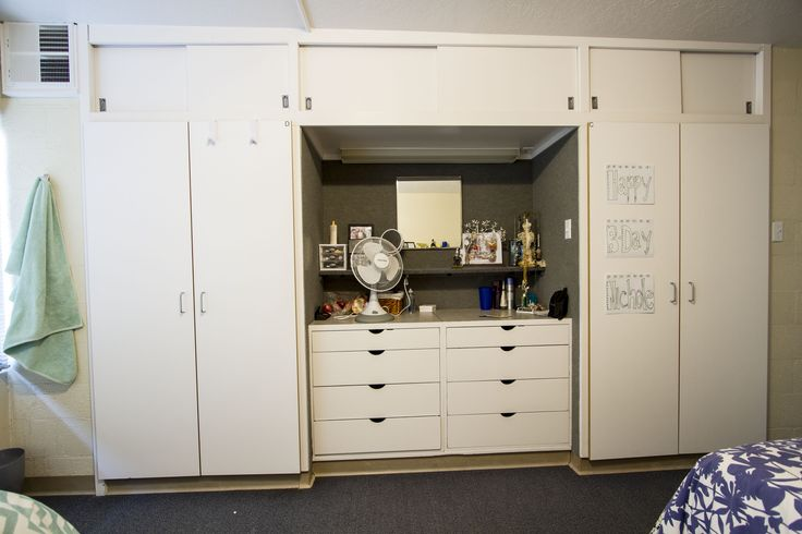 here 39 s a pic of your closet and dresser in bullen hall you also have a vanity with a mirror and. Black Bedroom Furniture Sets. Home Design Ideas
