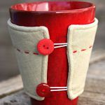 40 DIY Coffee Cup Cozies and Sleeves - for mugs or store bought coffee. Adorable! Would make a cute gift for Christmas!