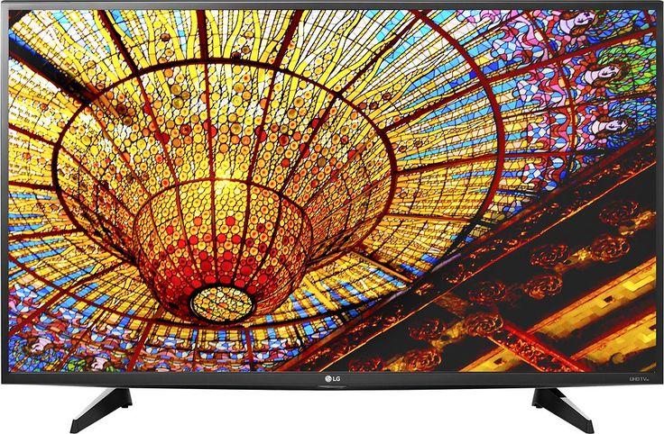 """LG - 49"""" Class (48.7"""" Diag.) - LED - 2160p - Smart - 4K Ultra HD TV - Black"""