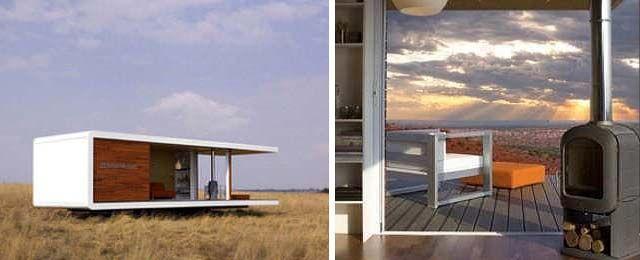 Model: ZenKaya.  Studio model total floor space: 20.4 sq.m.  Two Bedrooms model total floor space: 61.2 sq.m.  Prefab home design: ZenKaya.  Manufacturer location: South Africa.