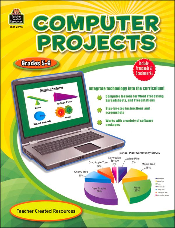 computer project front page
