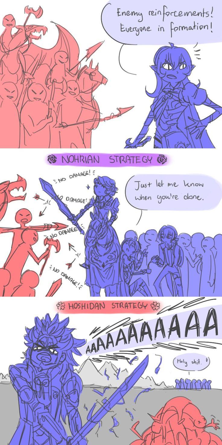 Nohrian vs. Hoshidan strategy