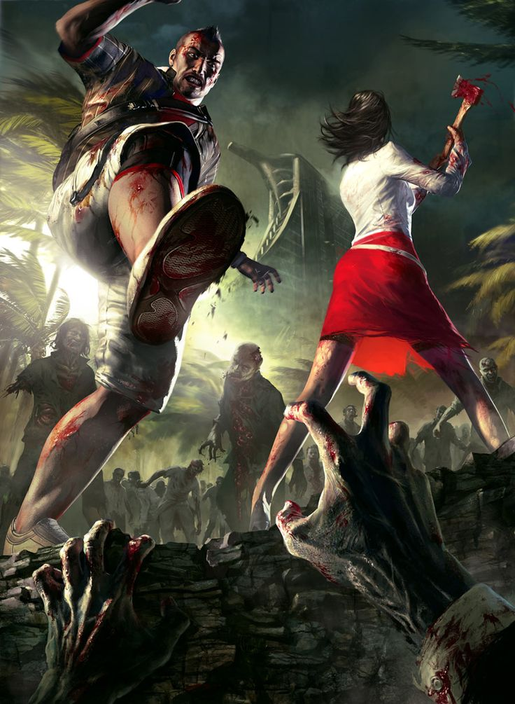 Dead Island - Logan & Xian Mei Promo  Jacob & my game. Well that we play online together.