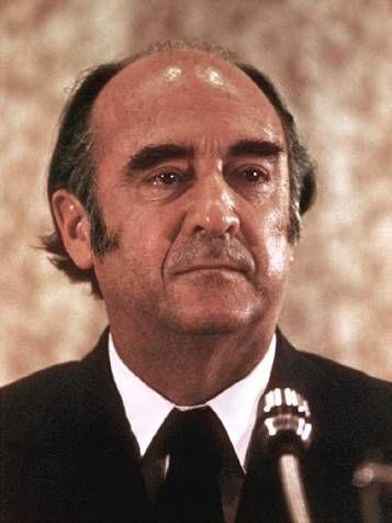 José López Portillo (1920-2004), abogado, político y presidente de Méjico entre 1976 y 1982. Premio Príncipe de Asturias de Cooperación Internacional, 1981.