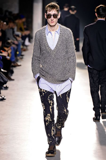 FALL 2013 MENSWEAR Dries Van Noten
