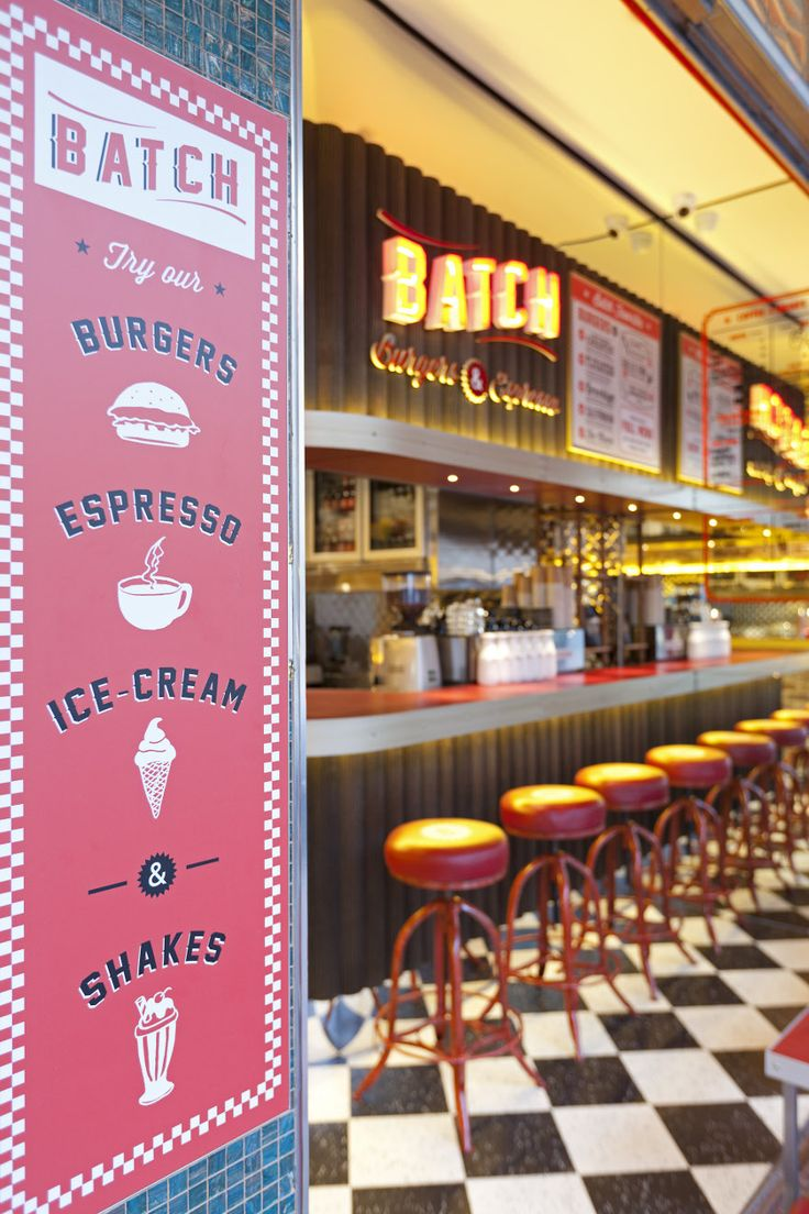 Fast food restaurant decor ideas - Batch Burgers And Espresso Giant Design Restaurant Bar Design