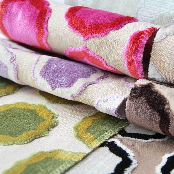 Manuel Canovas Fabrics Tiana 04786 Shop online, worldwide shipping: http://www.ethnicchic.com/products/tiana-04786