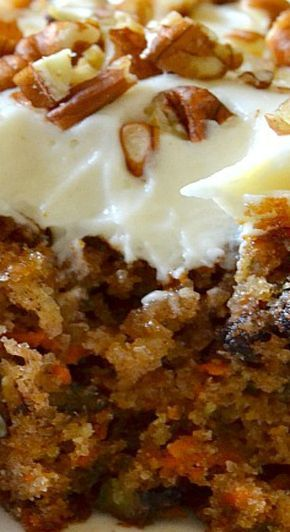 The Best Ever Carrot Cake with Cream Cheese Frosting