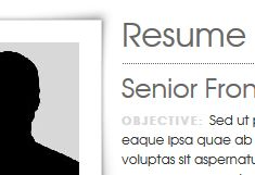 HTML5 Resume Generator and Onepager Website -- HTML5.CV is a resume generator and one pager website, with cool modern looks, various customization options and flexible resume data file. You can add any fields (contact details, employment history, education, interests, etc) and define photo. The UI is extremely easy to customize, so if you are acquainted with CSS, just give it a try.