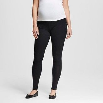 Shop Now - >  https://api.shopstyle.com/action/apiVisitRetailer?id=473815055&pid=uid6996-25233114-59 Liz Lange for Target Maternity Over the Belly Legging  ...