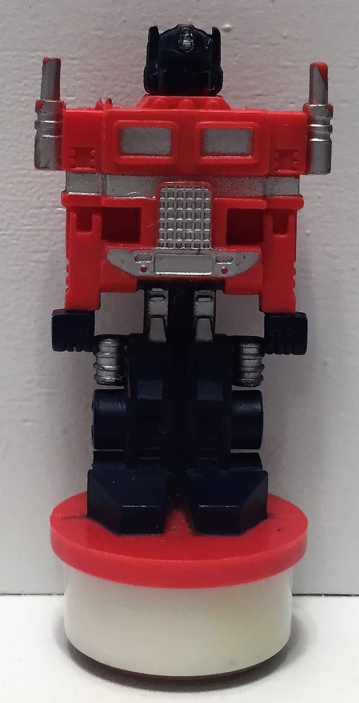 (TAS035006) - 1984 Hasbro Transformers Collectible Stamper - Optimus Prime