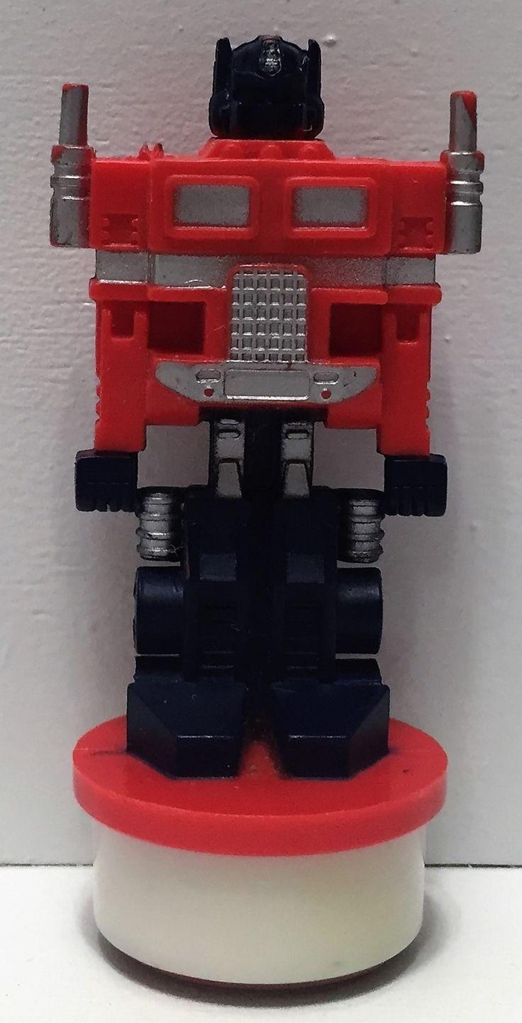 (TAS035006) - 1984 Hasbro Transformers Collectible Stamper - Optimus Prime