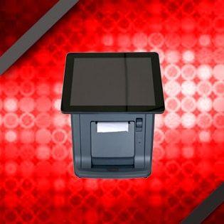 """TCP 138 Komputer Kasir All In One touch screen 9.7"""" memiliki desain yang ramping, mudah ditempatan di tempat yang sempit/ kecil. Sangat cocok untuk membantu pekerjaan anda di kasir restoran,meisn antrian , kasir toko dll."""