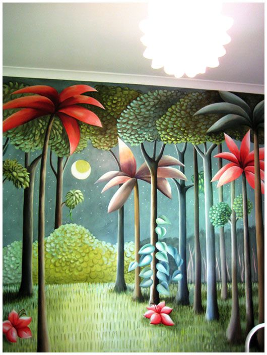 'Where the Wild Things Are' Mural - oh how I love this book and illustrations!
