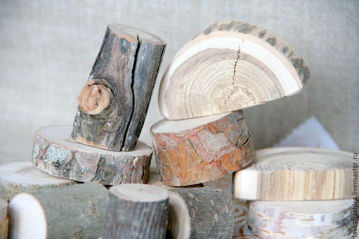 """Купить набор """"Лесной сюрприз"""" - срезы дерева, натуральное дерево, Конструктор, заготовка для творчества"""