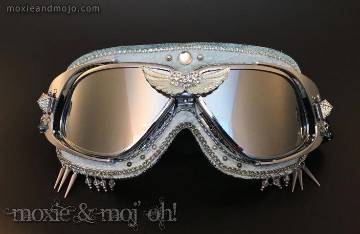 "Goggles: ""Serendipity"" by MoxieandMojoFashion on Etsy"