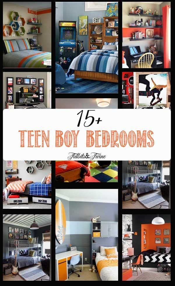 TIDBITS & TWINE: 15+ Amazing Tween/Teen Boy Bedrooms
