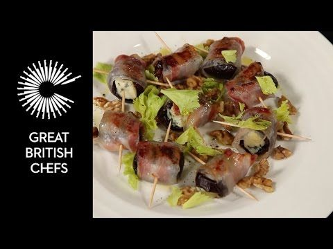 Food & wine pairing - Date, blue cheese and pancetta canapé - http://winecentral.net/food-wine-pairing-date-blue-cheese-and-pancetta-canape/