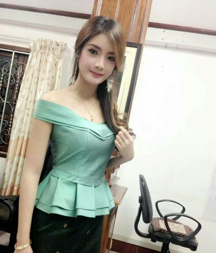 Laos traditional outfit - Top