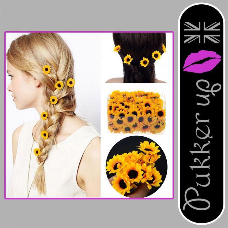 Boho Flower Daisy Hair Cuff Clip Headband Hair Pin Accessories Summer Festival