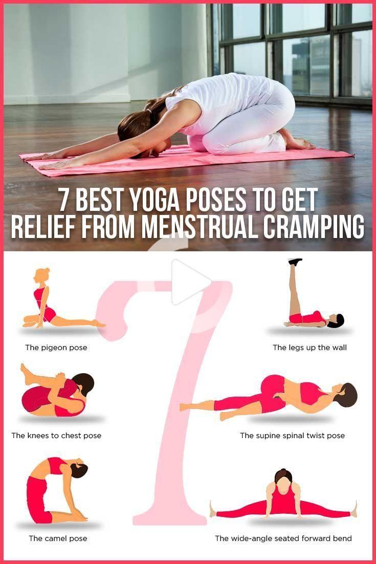 Menstrual Cramping 7 Best Yoga Poses To Get Relief Meditation Cool Yoga Poses Menstrual Yoga Period Workout