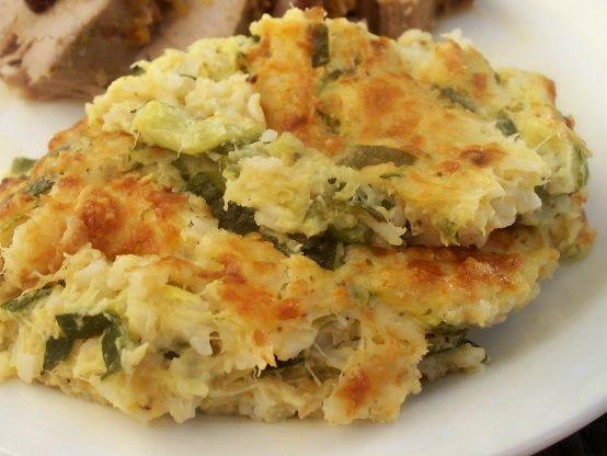 Zucchini Squash-Rice Casserole Recipe - Cheese.Food.com