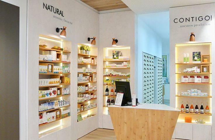 Farmacia Jorda - Diseño Estilo Natural Apotheka - Tendencias diseño de Farmacias