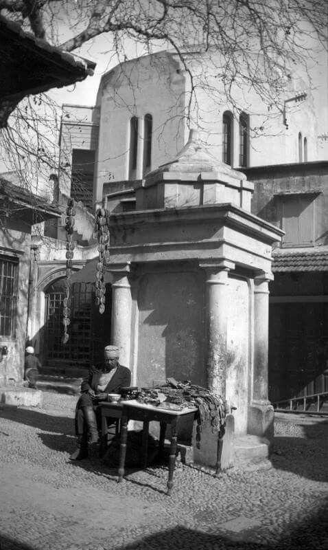 Socratous street 1934.  Old Rhodes town, Rhodes.