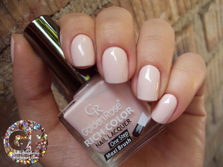 Beżowy Manicure Zawsze Idealnie Pasuje Jako Wykończeniem Każdej Stylizacji Golden Rose Rich