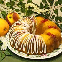Fuzzy Navel Cake Recipe