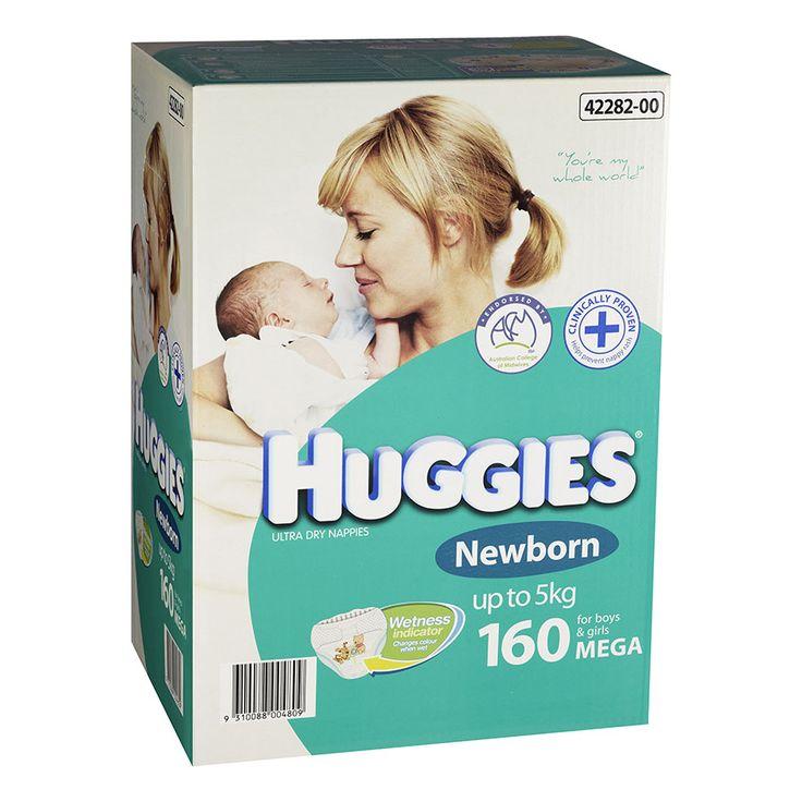 Huggies Mega Newborn 160 Pack Babies R Us Australia