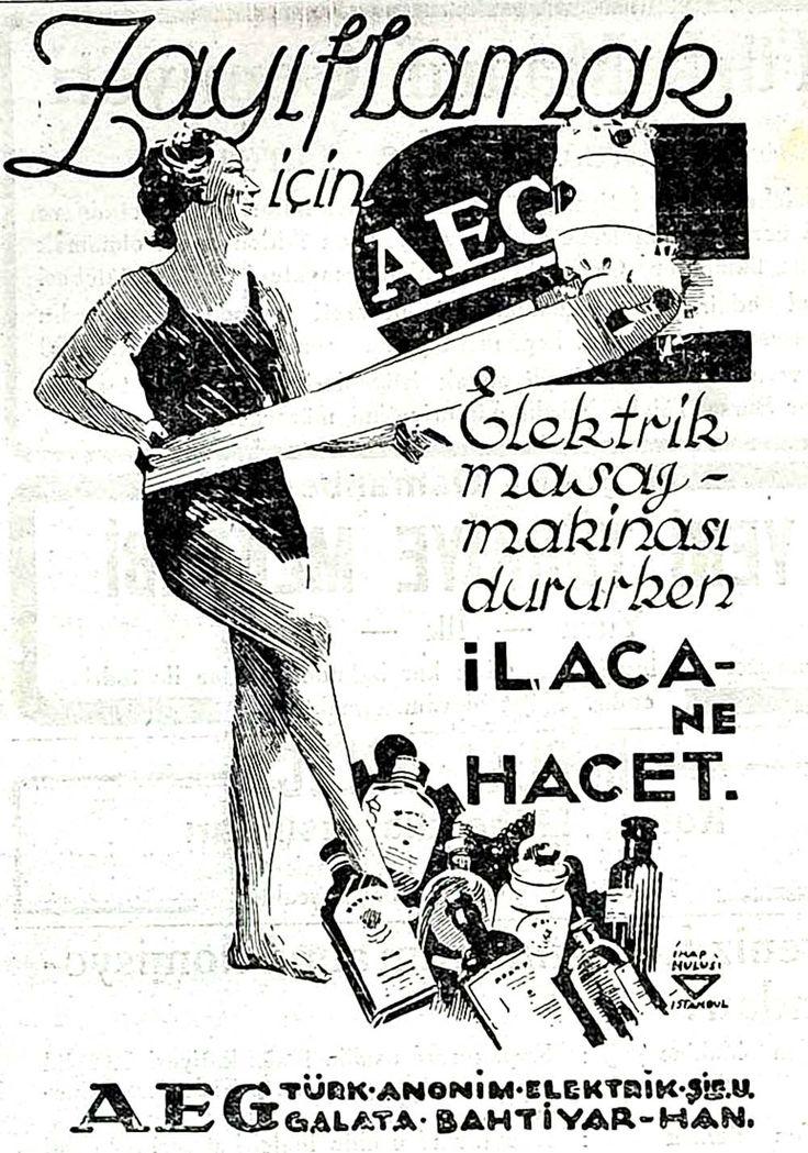 1931 Zayıflamak için AEG