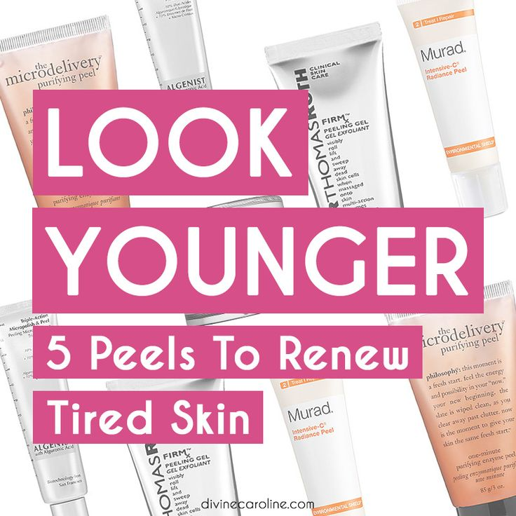 Don't let the name scare you away - at-home peels are super easy to use! You'll be looking younger and refreshed in no time and without a pricey spa visit. #facial #peel #aging